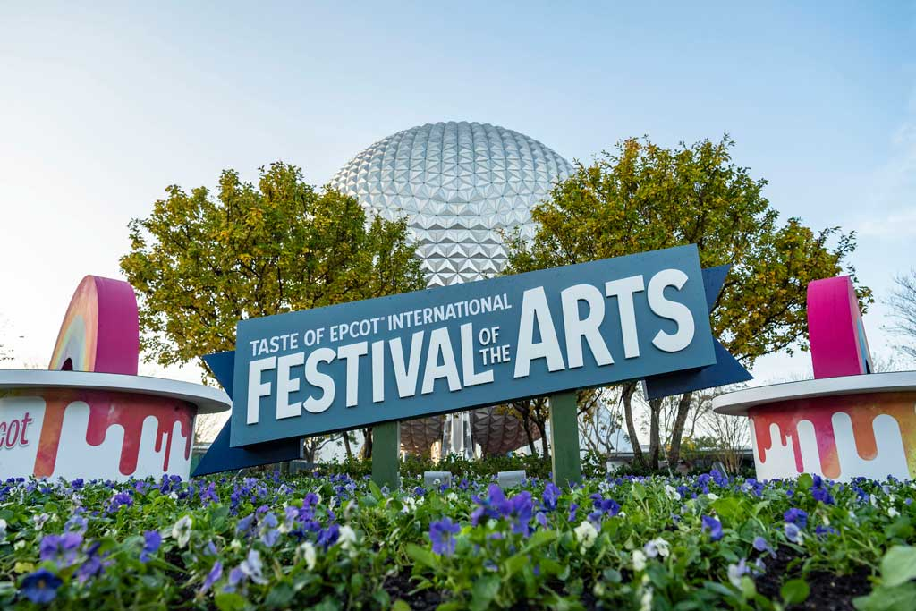 The Taste of EPCOT International Festival of the Arts at Walt Disney World Resort in Lake Buena Vista, Fla., celebrates visual, culinary and performing arts from around the world. (Matt Stroshane, photographer)
