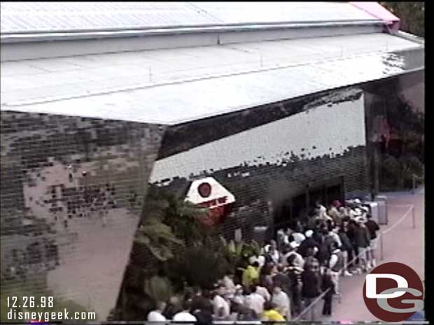 1998 - Walt Disney World Monorail - Universe of Energy queue