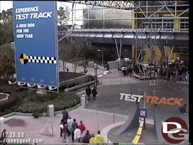 1998 - Walt Disney World Monorail - Test Track