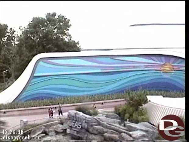 1998 - Walt Disney World Monorail - Living Seas
