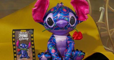 Stitch Crashes Disney