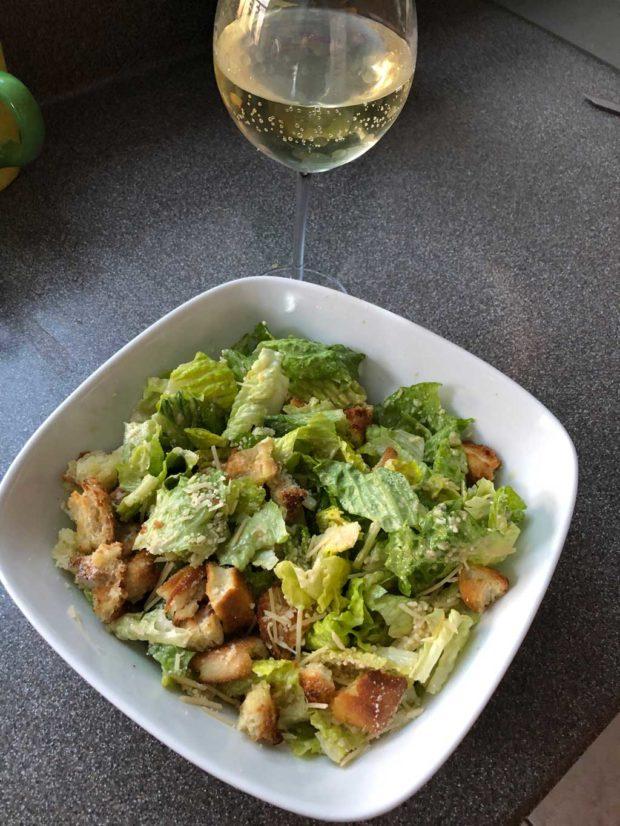 Dorthy's Caesar Salad A La ZBornak
