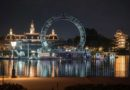 """EPCOT """"Harmonious"""" Central Ring Structure Moved Into Place"""
