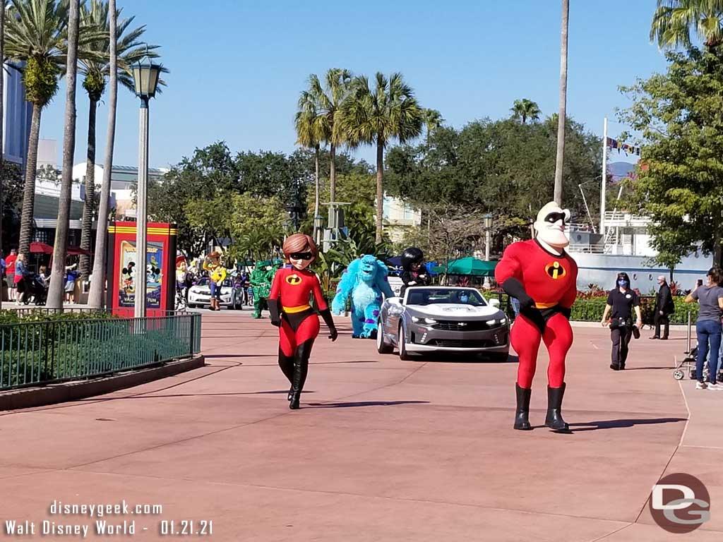 Pixxar Cavalcade @ Disney's Hollywood Studios - Walt Disney World