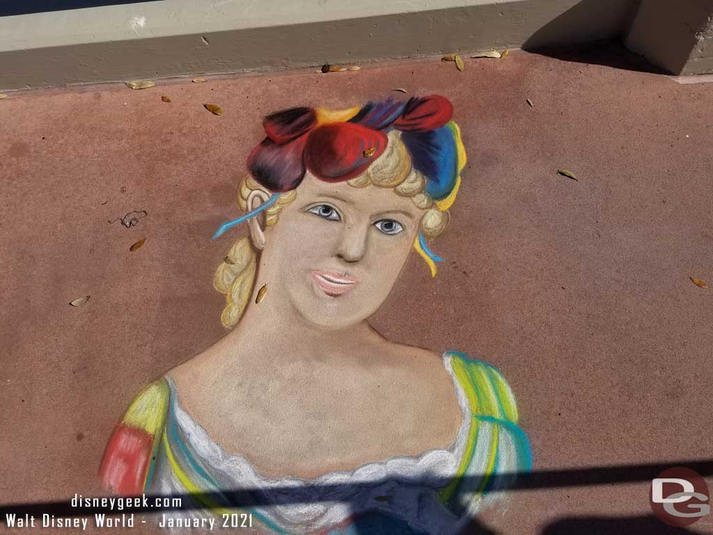 Epcot Festival of the Arts 2021 - Chalk Art
