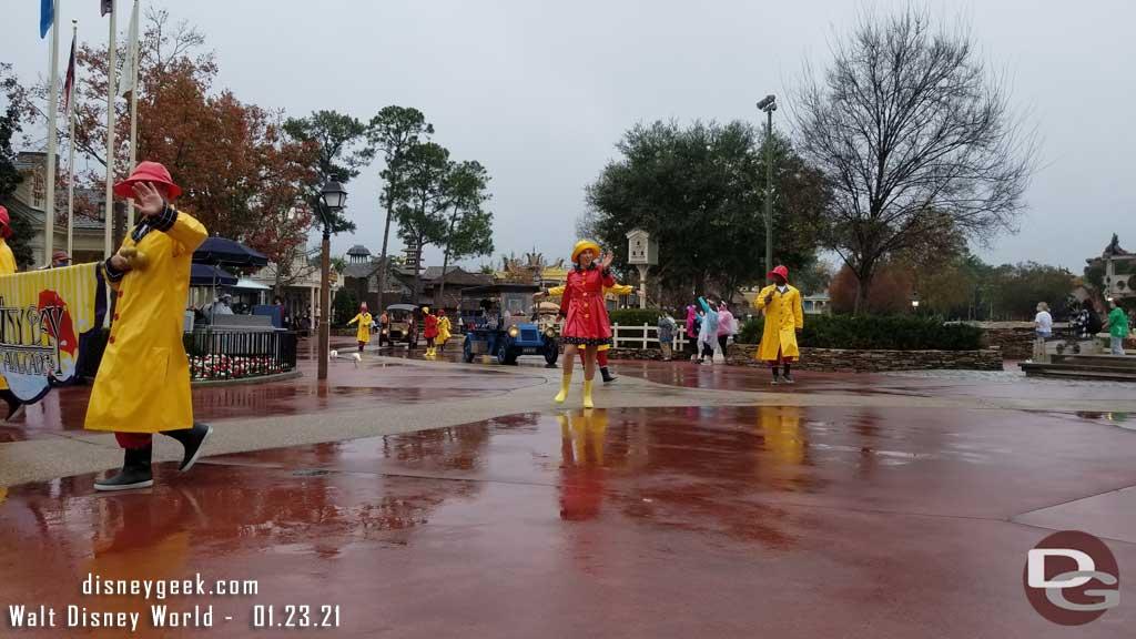 Rainy Day Cavalcade @ Magic Kingdom