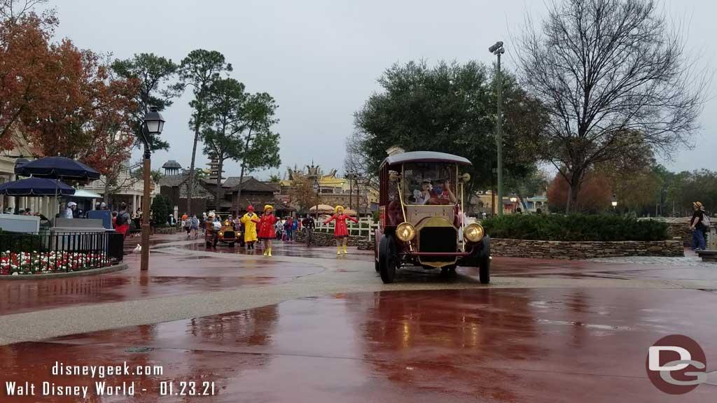 Mickey Mouse in Rainy Day Cavalcade @ Magic Kingdom
