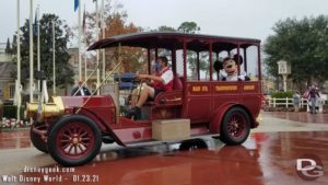Minnie Mouse in Rainy Day Cavalcade @ Magic Kingdom