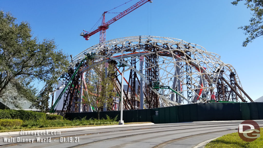 Magic Kingdom TRON Lightcycle / Run - January 19, 2021