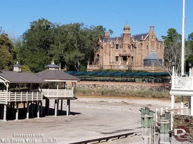 WDW Magic Kingdom - Rivers of America - Renovation January 19, 2021