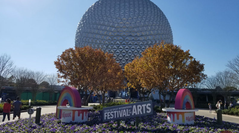 Epcot Tast of Festival of the Arts