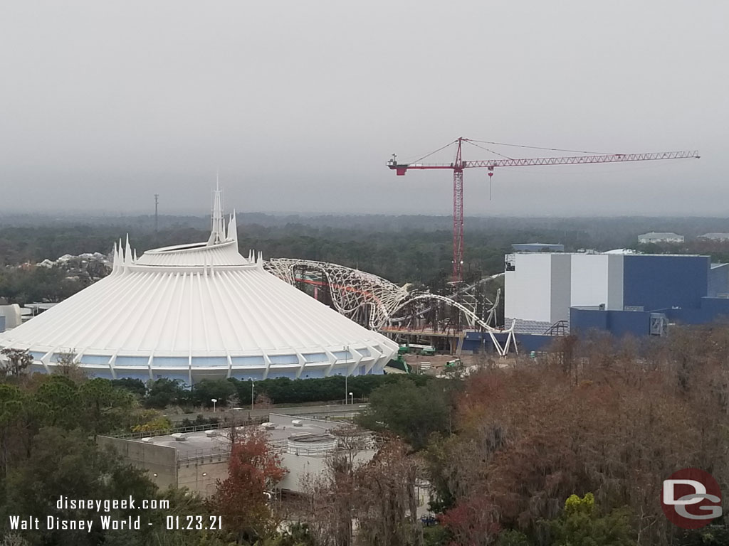 Magic Kingdom TRON Lightcycle / Run - January 23, 2021