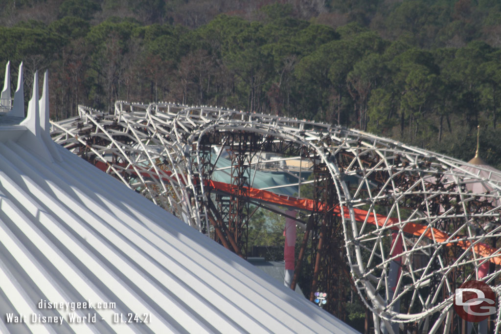 Magic Kingdom TRON Lightcycle / Run - January 24, 2021