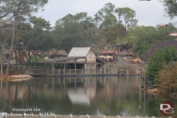 WDW Magic Kingdom - Rivers of America - Renovation January 26, 2021