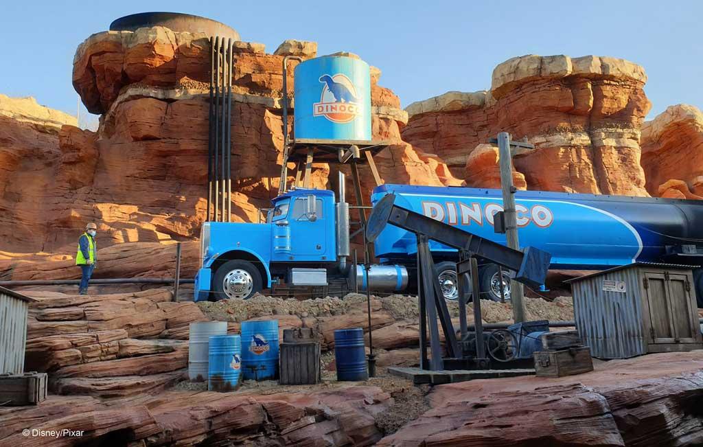 Walt Disney Studios Park - Cars Road Trip