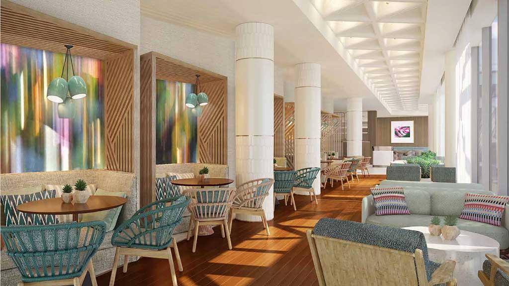 Swant Reserve - Hallway-to-Restaurant