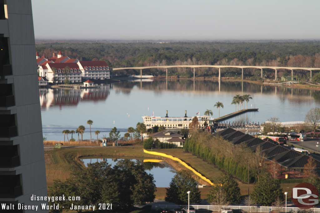 Bay Lake Tower at Disney's Contemporary Resort View from Room