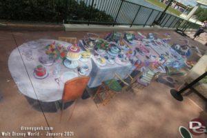 Epcot Festival of the Arts 2021 - Chalk Art