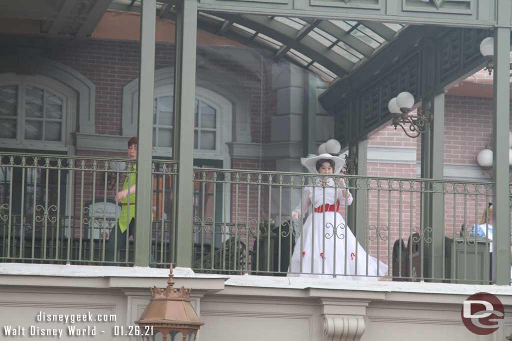 Main Street Train Station Character Greeting