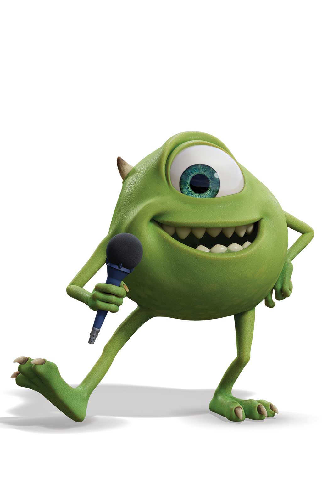 MONSTERS AT WORK - Character Art. (Disney) MIKE (BILLY CRYSTAL)