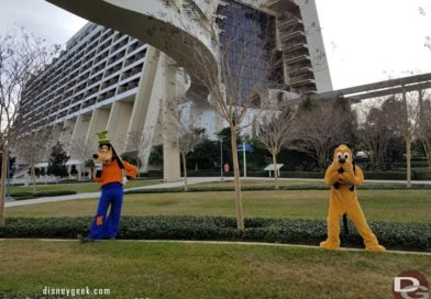 WDW Caravaning Round the World @ Disney's Contemporary Resort