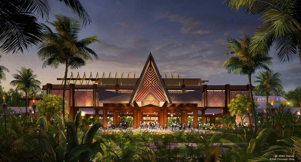 Polynesian Village Resort Concept Art