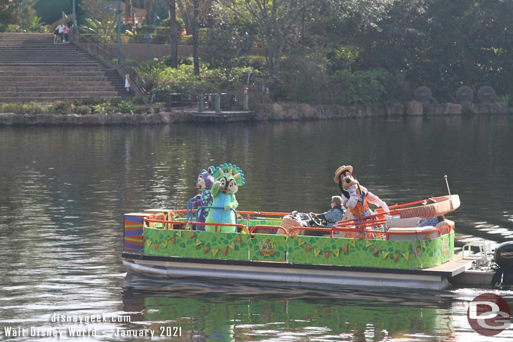 WDW Animal Kingdom - Character Flotilla Jan 2021