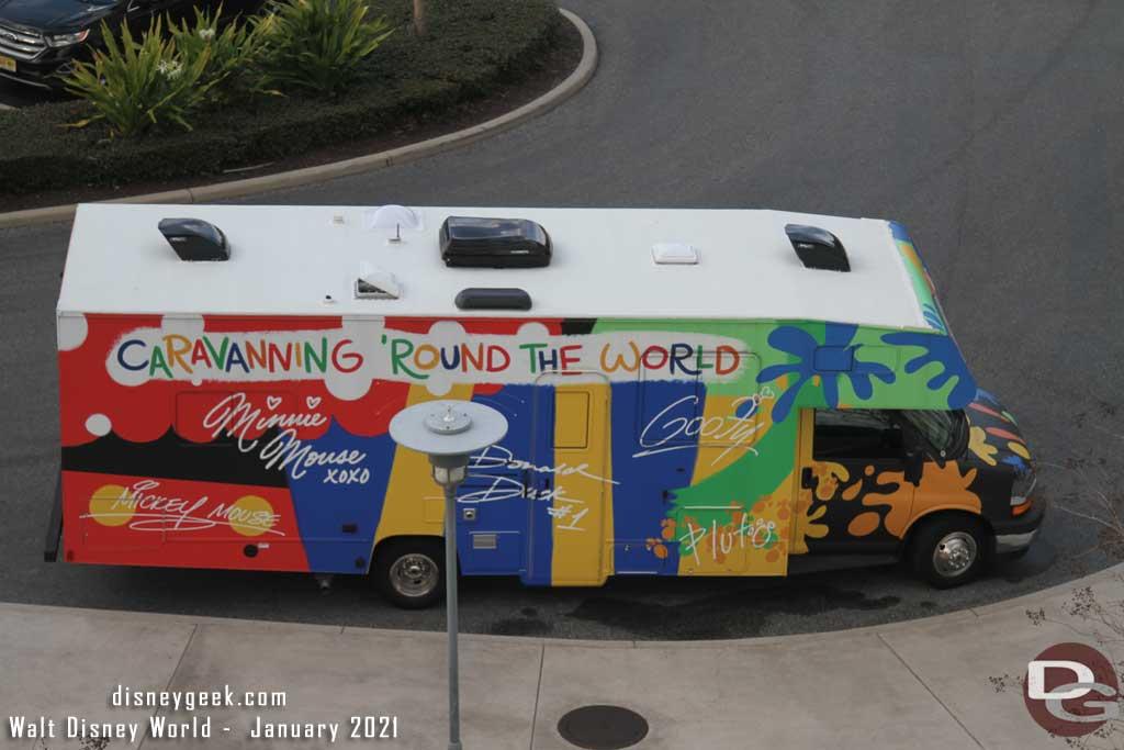 WDW Caravaning Round the World @ Disney's Contemporary Resort