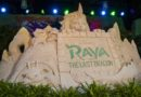 Pictures & Video: Raya and the Last Dragon Sand Sculpture