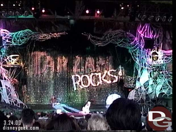 Tarzan Rocks - Disney's Animal Kingom March 2000