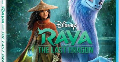 Raya and the Last Dragon Blu-ray