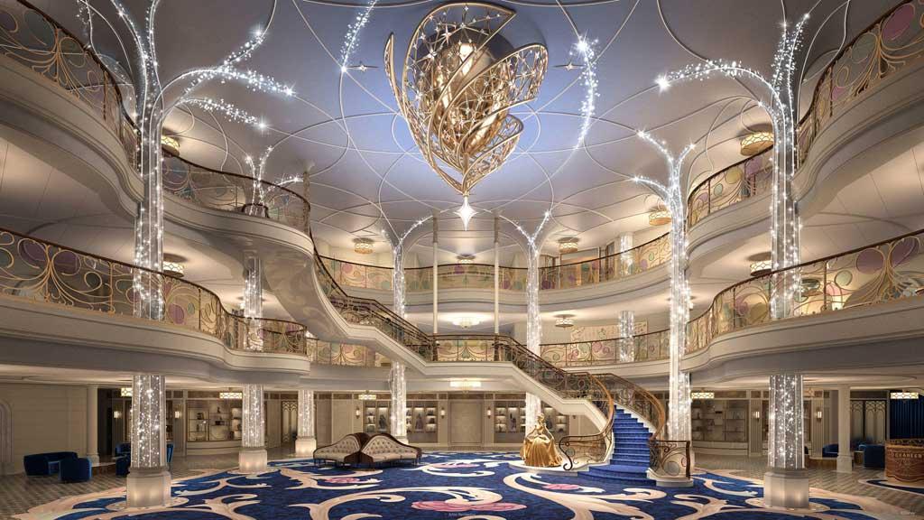 Disney Wish – Grand Hall