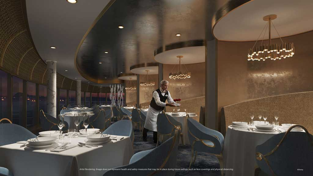 Disney Wish – Premiere Dining – Enchante by Chef Arnaud Lallement
