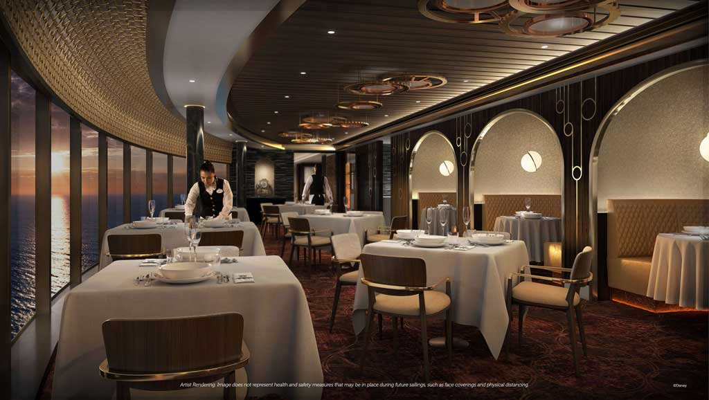 Disney Wish – Premiere Dining – Palo Steakhouse