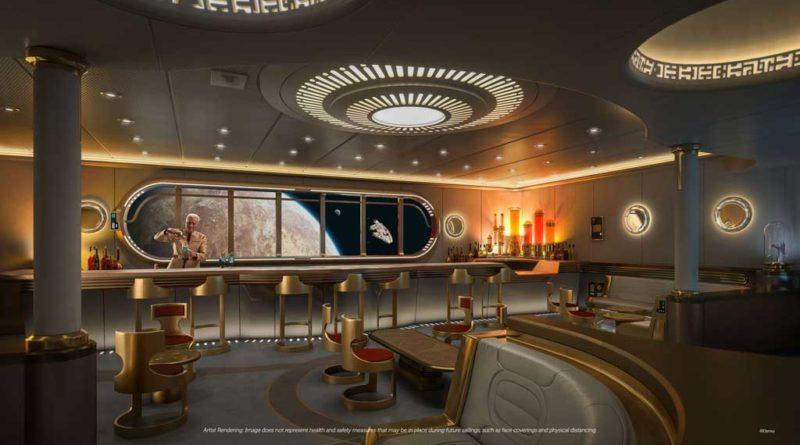 Disney Wish – Star Wars Hyperspace Lounge