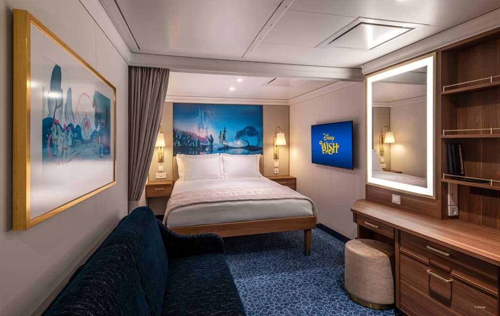 Disney Wish – Staterooms – Inside
