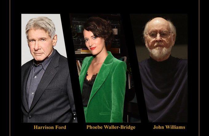 Indiana Jones 5 Announcement - John Williams Phoebe Waller-Bridge