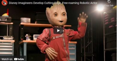 Disney Imagineers Develop Cutting-Edge, Free-roaming Robotic Actor