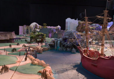 "Tokyo DisneySea - Fantasy Springs - A model of the area with the theme of the movie ""Peter Pan"""