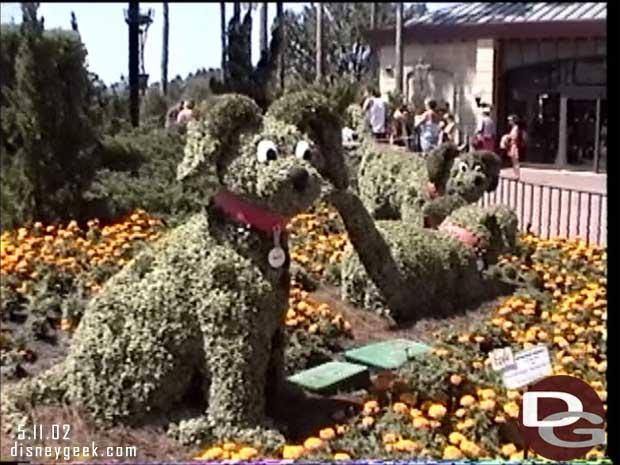 Epcot - May 2002 - Flower & Garden Festival