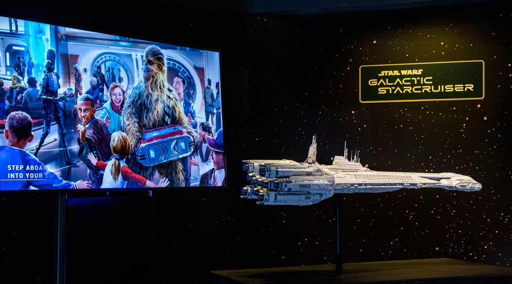 Star Wars: Galactic Starcruiser Model at Disney's Hollywood Studios (David Roark, photographer)