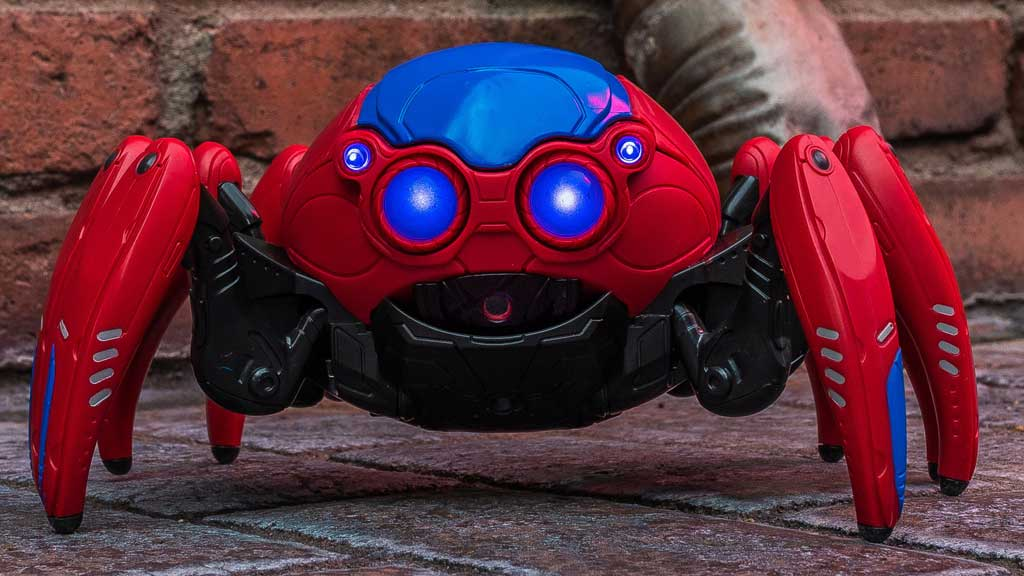 Guests visiting Avengers Campus at Disney California Adventure Park in Anaheim, California, will find the latest Super Hero inventions at WEB Suppliers, including the Spider-Bots seen in WEB SLINGERS: A Spider-Man Adventure. Guests will be able to build and battle their Spider-Bots to gain a new sidekick as they train to be a part of the next generation of Super Heroes. (Christian Thompson/Disneyland Resort)