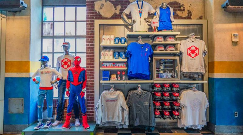 In Avengers Campus at Disney California Adventure Park in Anaheim, California, families can find all the gear they need to train alongside their favorite Super Heroes. From a kid's Spider-Man costume (exclusive to Avengers Campus) and more, there is something for every recruit to become the Super Hero they want to be. (Christian Thompson/Disneyland Resort)