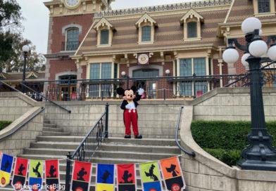 Mickey Mouse - Disneyland Train Station