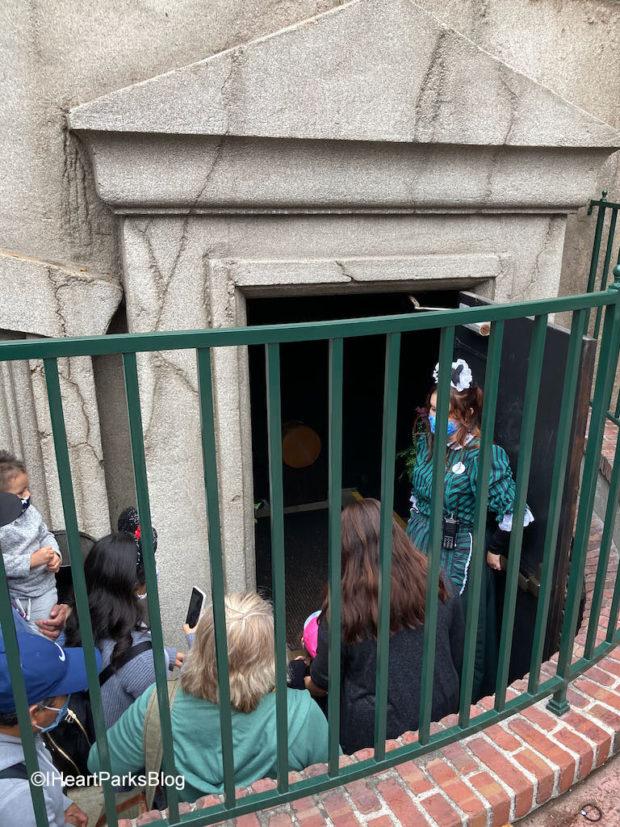 Haunted Mansion side entrance