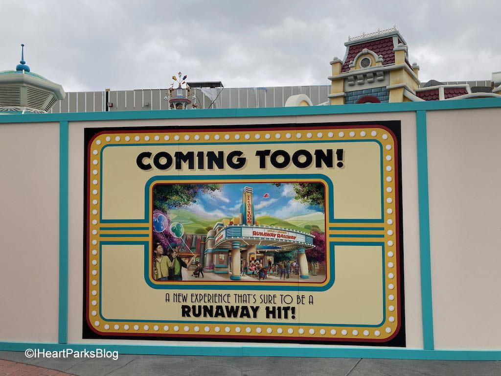 Runaway Railway sign