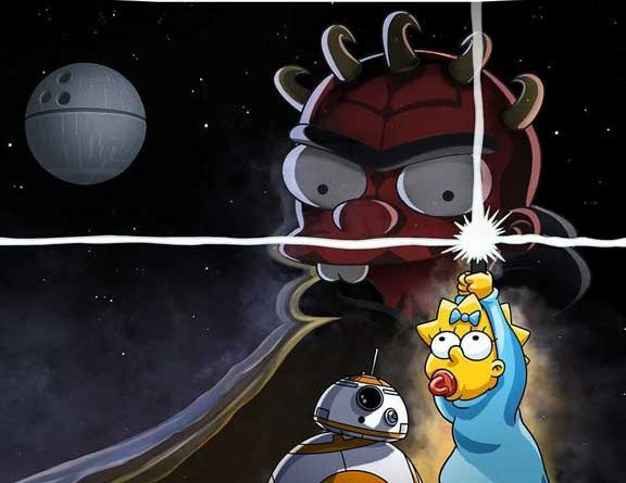 Maggie Simpson in 'The Force Awakens From Its Nap