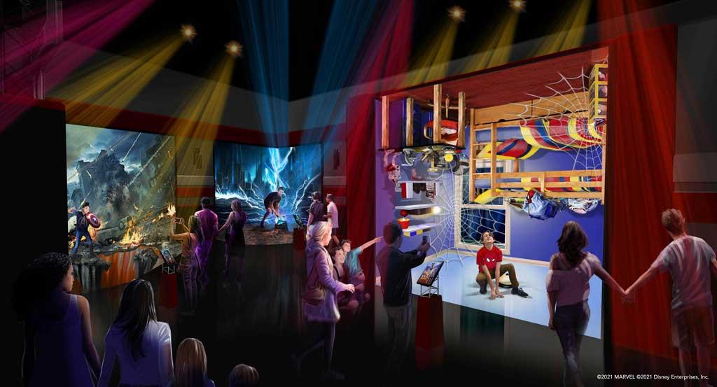 Disney's Hotel New York - The Art of Marvel - Super Hero Station