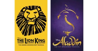 The Lion King & Aladding Return to Broadway