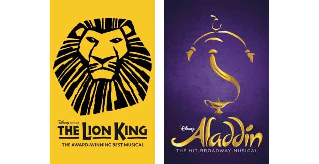 The Lion King & Aladding Return to Broadway
